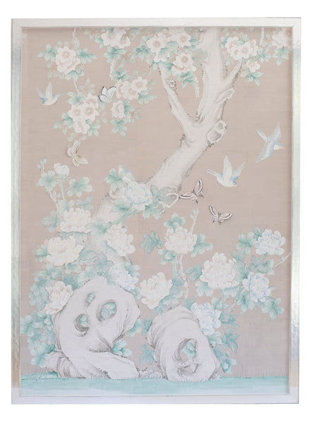 1 Chinoiserie Collage: Pale pink