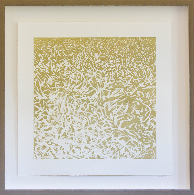 Abstract: Straw Grass Intaglio
