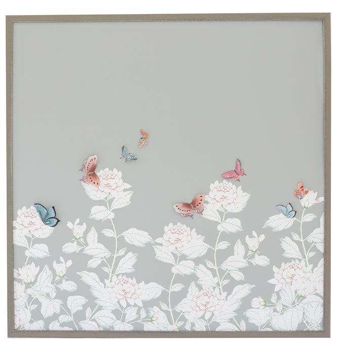 Chrysanthemum Chinoiserie, grey