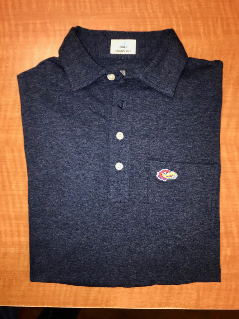 KU Jayhawk Game Day Polo - Weaver's