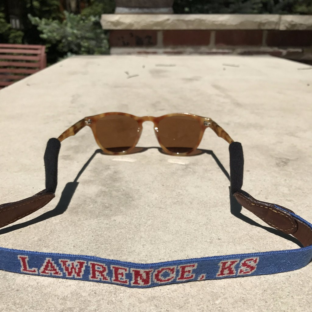 """Lawrence"" Sunglass Strap - Weaver's"