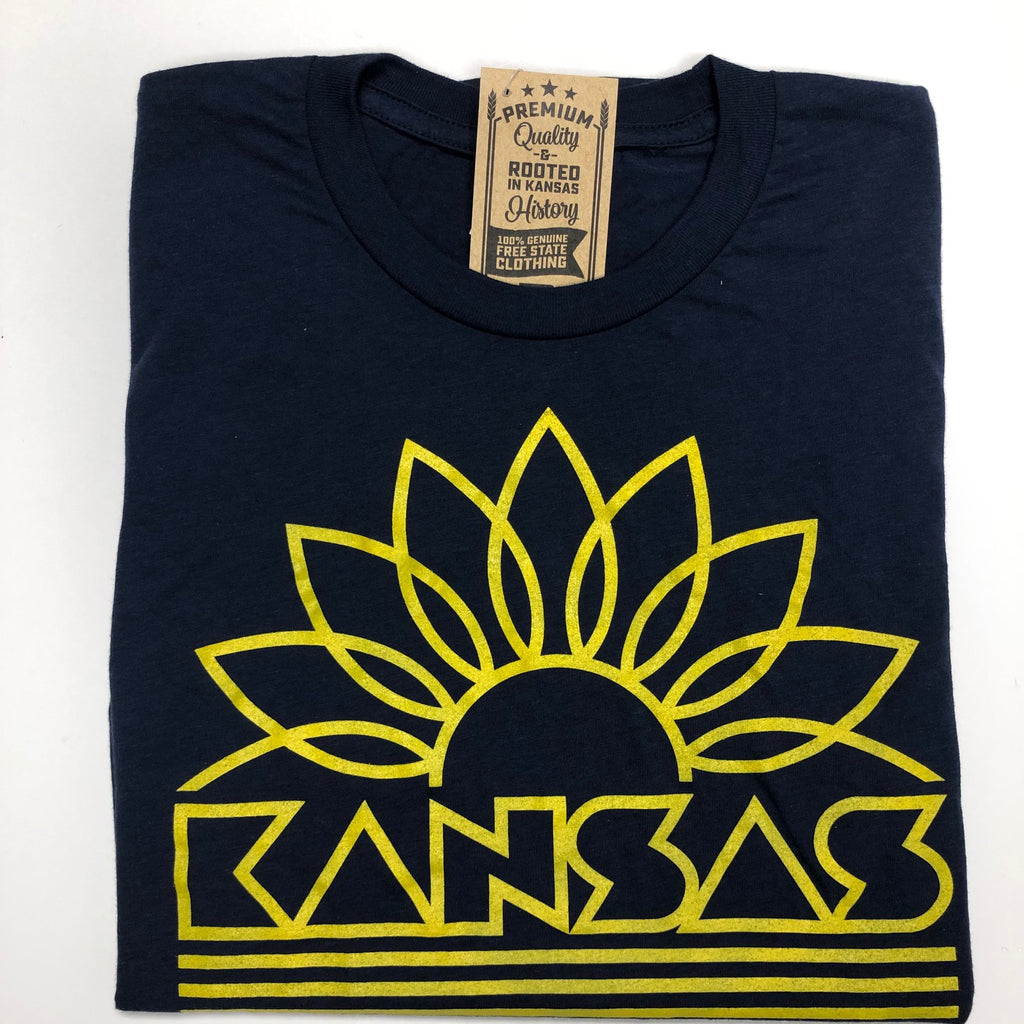 Kansas Sunflower Unisex Tee - Weaver's