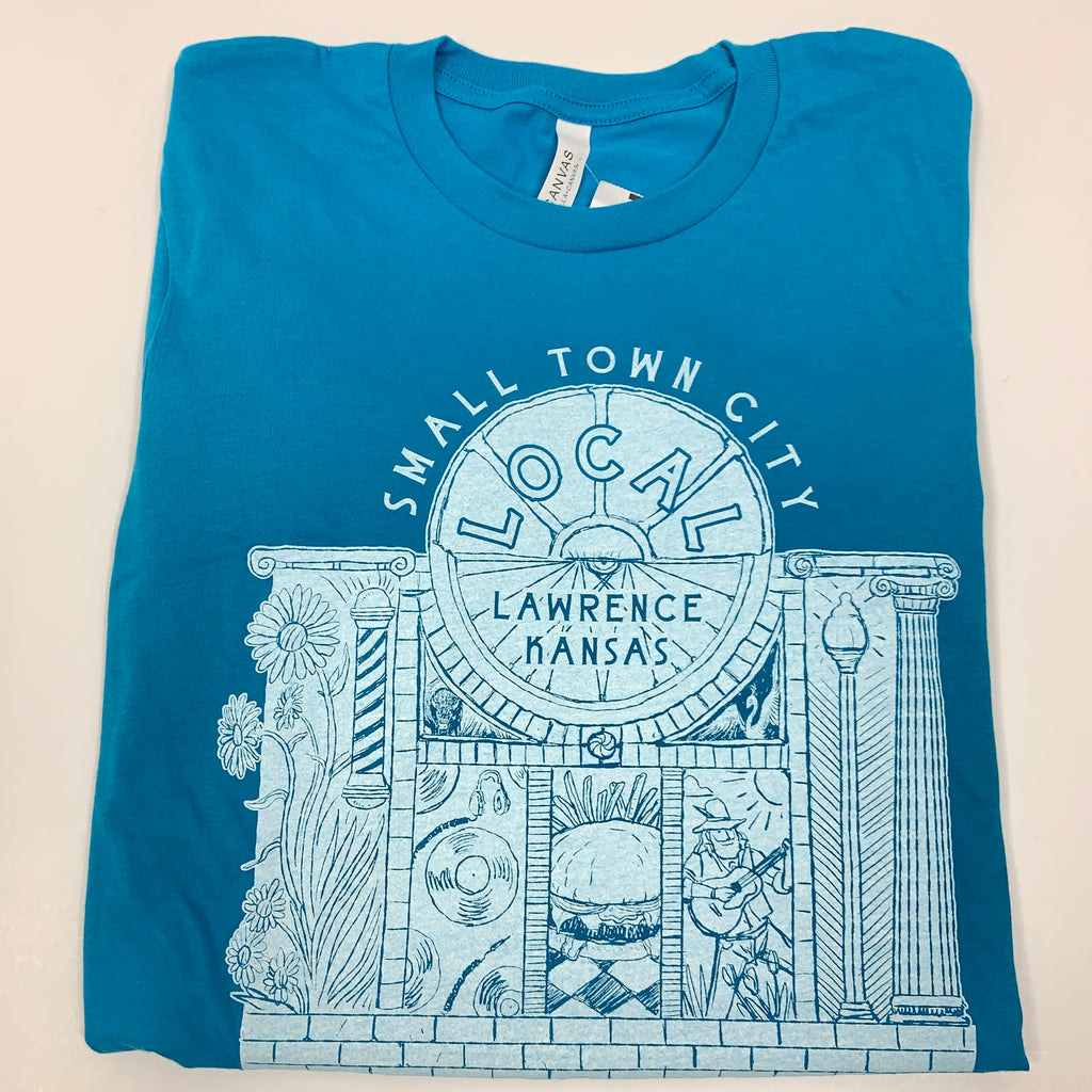 Small Town City Short Sleeve Tee - Weaver's