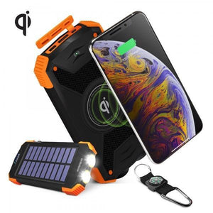 Hypergear Wireless Solar Power Bank 10000mAh