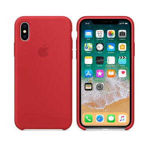 Apple Case Protector De Silicón Para Iphone Xs Max