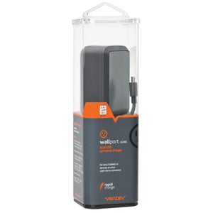 Cargador de Pared Wallport R2240 con Cable Micro USB