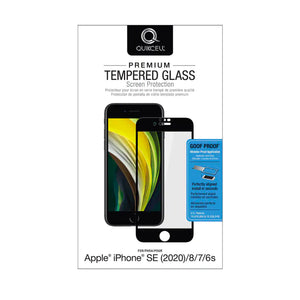 QUIKCELL CRISTAL TEMPLADO IPHONE SE 2020