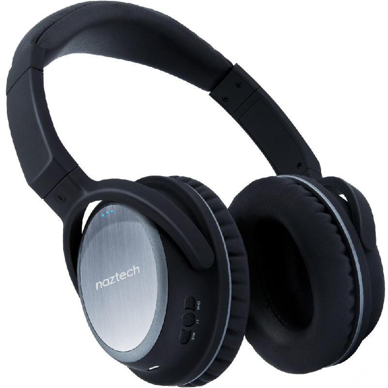 Naztech Headphones Xj-500 Wireless Black
