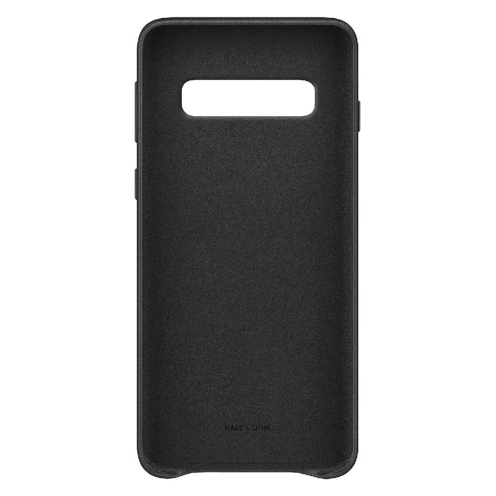 Samsung Leather Cover para Galaxy S10+