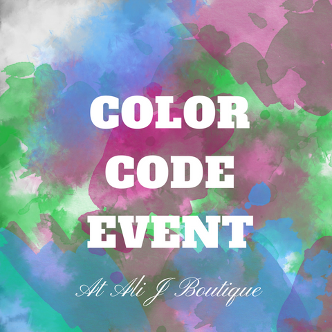 May 17 Color Code Event