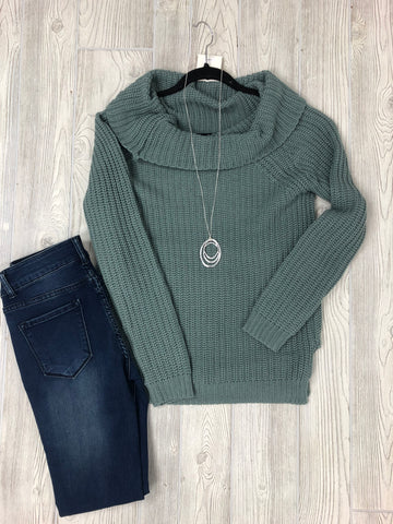 Cozy Cowl Sweater
