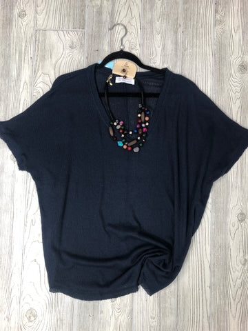 Midnight Knit Tee