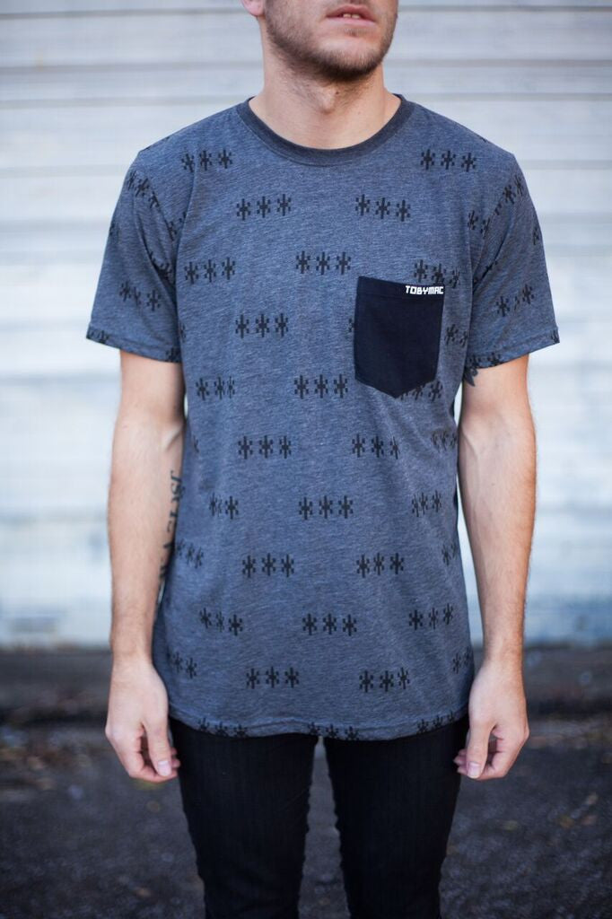 SALE 40% OFF - Asterisk Pocket Tee