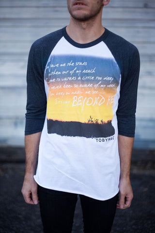 SALE - Beyond Me - Baseball Tee