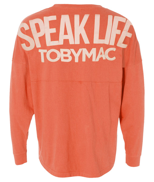 CORAL Speak Life Game Day Jersey