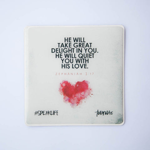GREAT DELIGHT #SPEAKLIFE Magnets