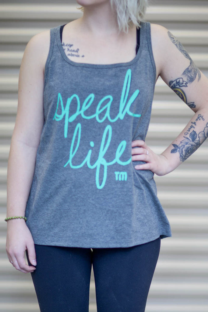 Grey Speak Life Tank