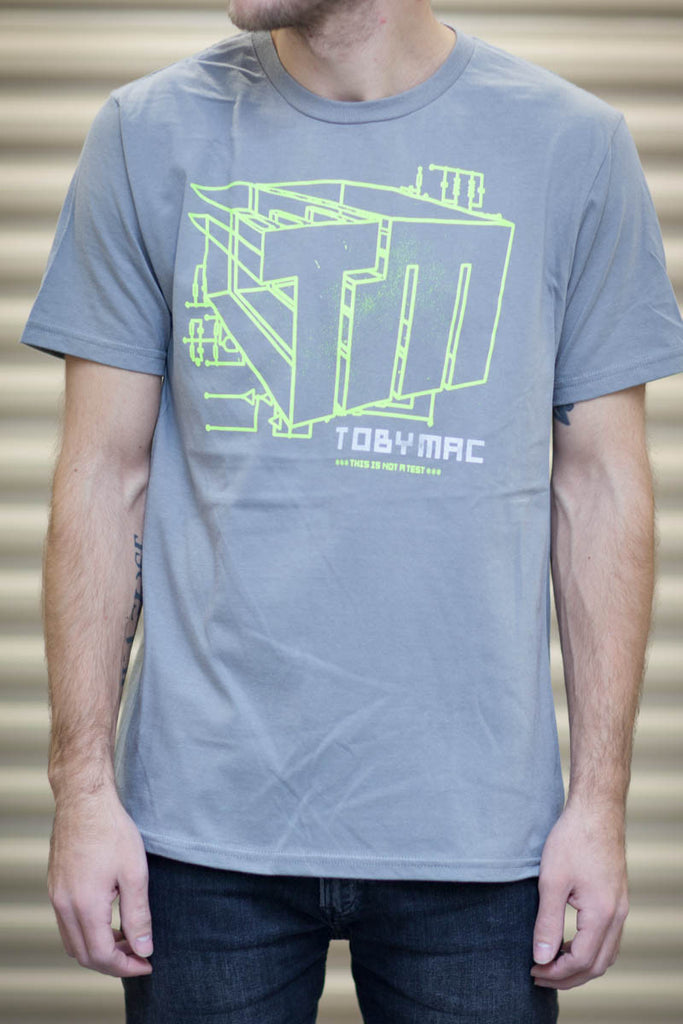 TM Neon Yellow Architecture Tee