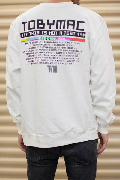 SALE 50% OFF - This Is Not A Test Tour Pullover