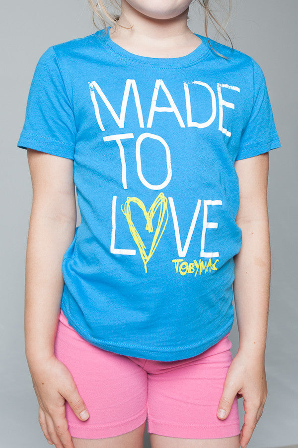 SALE 50% OFF - Youth Made To Love Tee