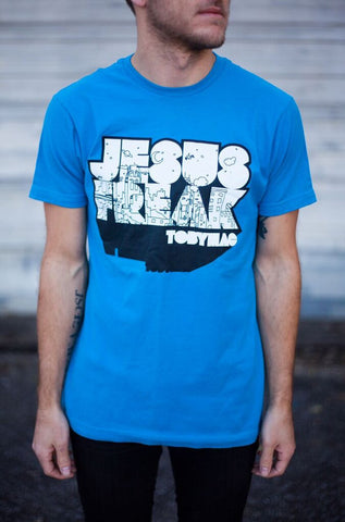 SALE 20% OFF - Jesus Freak City Tee