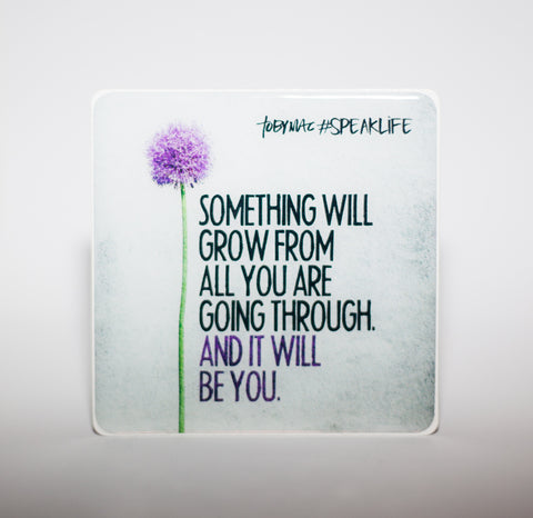 SOMETHING WILL GROW #SPEAKLIFE Magnets