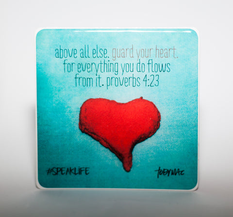 GUARD YOUR HEART #SPEAKLIFE Magnets