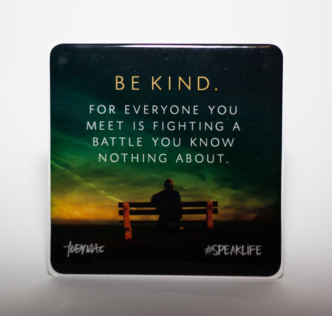 BE KIND #SPEAKLIFE Magnets
