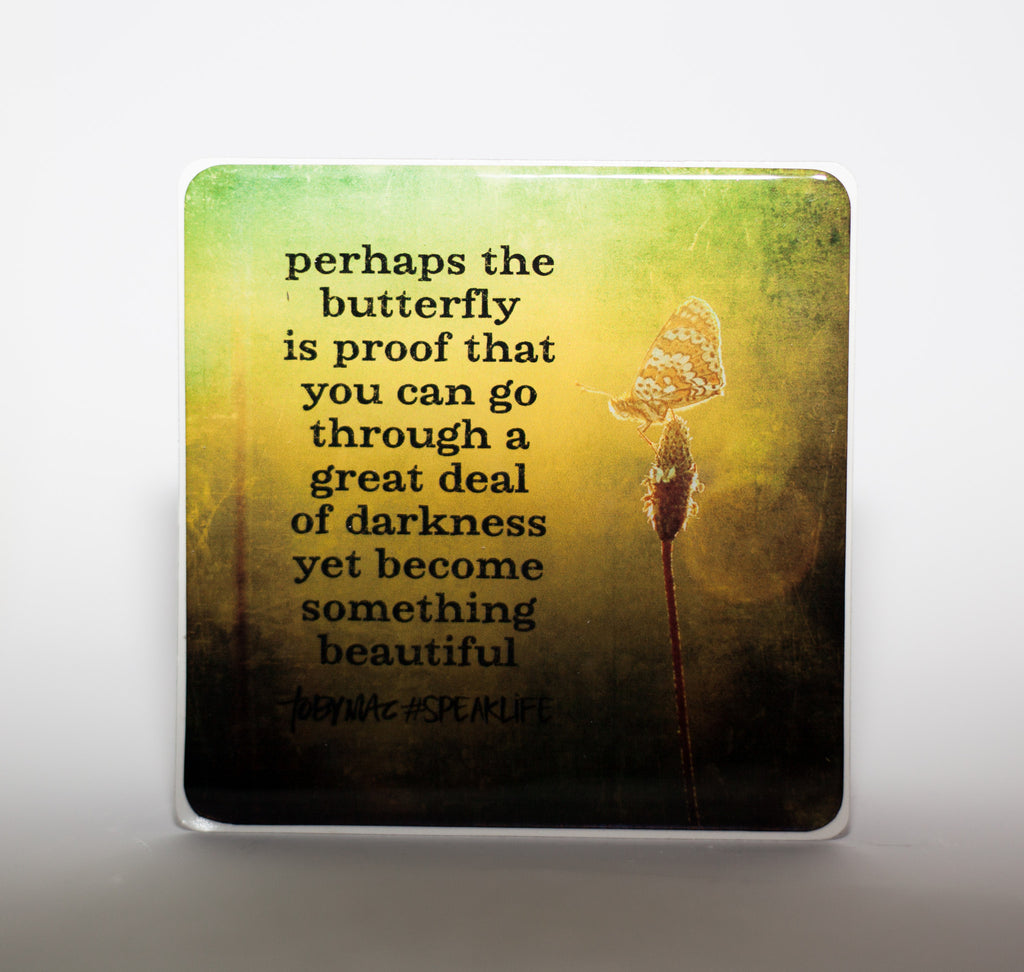 BUTTERFLY #SPEAKLIFE Magnets