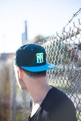 Neon Blue TM Hat