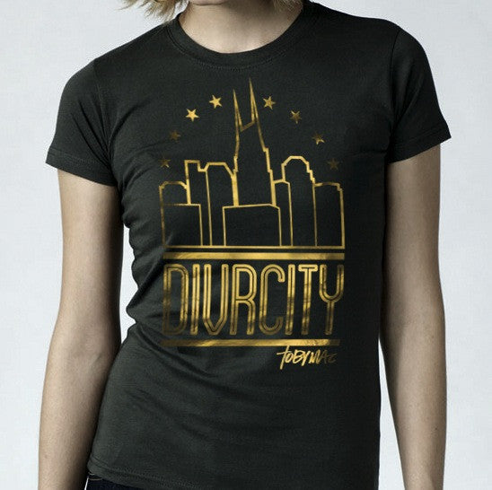 SALE 40% OFF - DIVRCITY Foil Tee - Ladies