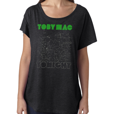 SALE - City Scape - Ladies Dolman Tee