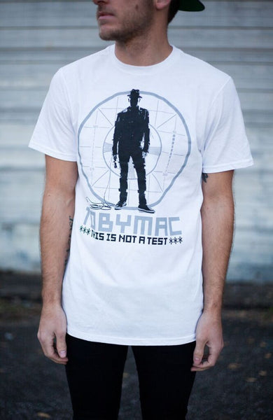 SALE 50% OFF - This Is Not A Test Circle Tee