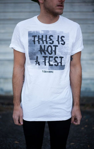 SALE 50% OFF - This Is Not A Test Tee