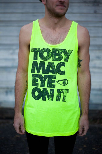 SALE 60% OFF - Neon Eye On It Tank