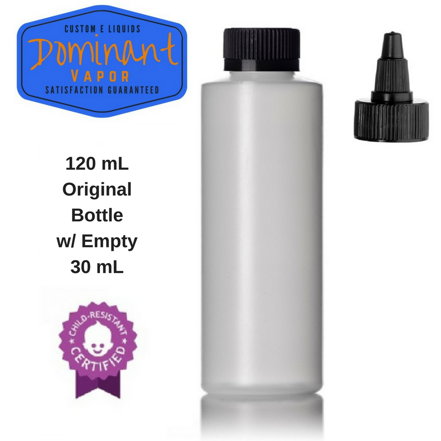 DIY Single Empty Bottles With Label - Various Sizes/Types
