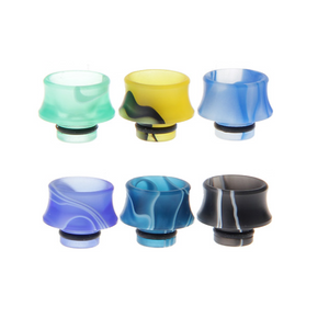 510 Swirl Acrylic Drip Tips New!