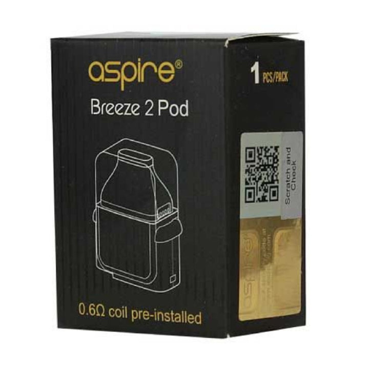 Breeze 2 Replacement Pod by Aspire