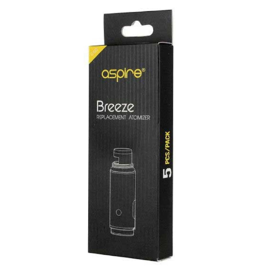 Breeze U-Tech Replacement Coils 5 Pack by Aspire