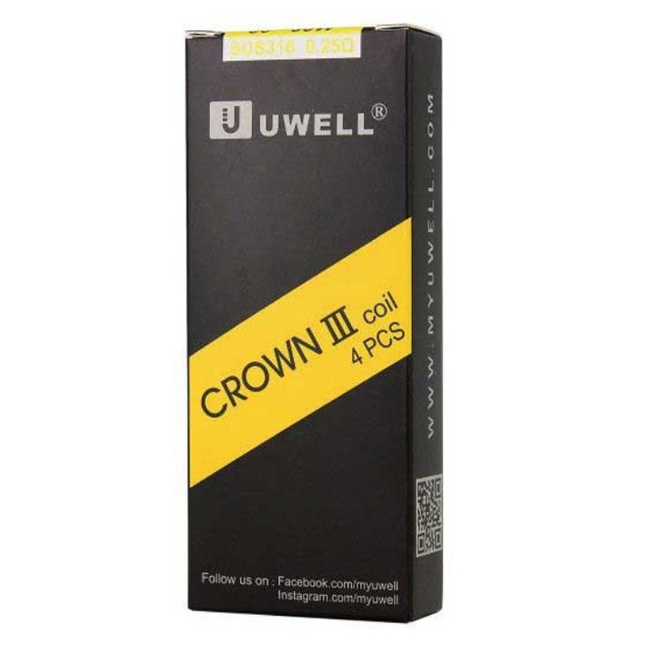 Crown 3 Replacement Coils (4 pack) by Uwell