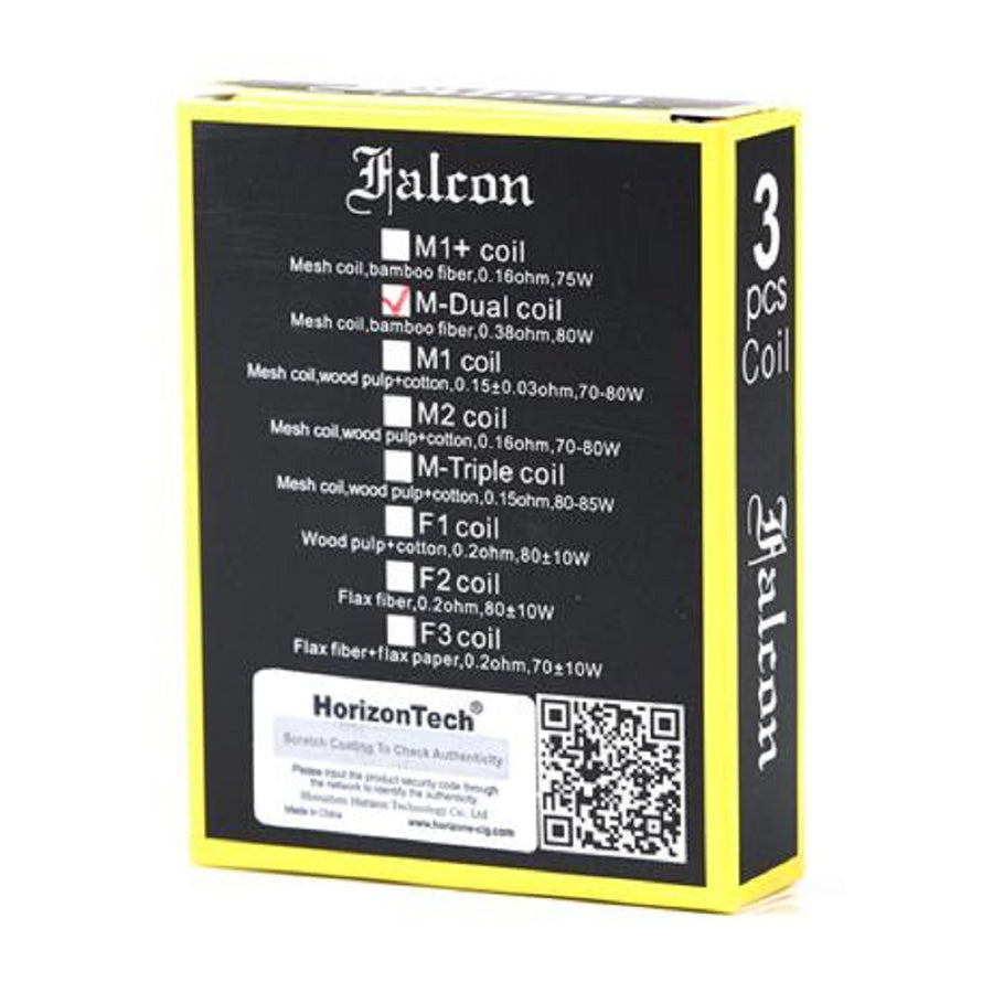 Falcon / Falcon King Replacement Coils 3 Pack by Horizon Tech