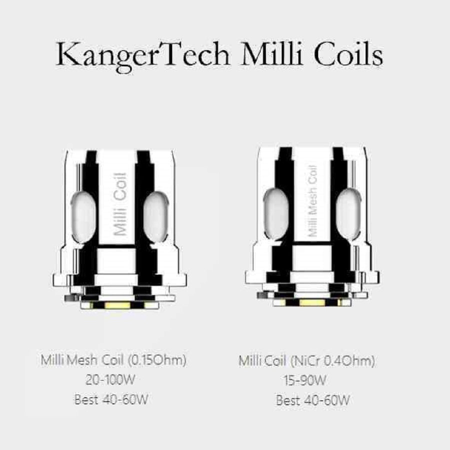 Ranger Milli Replacement Coils 3 Pack by KangerTech
