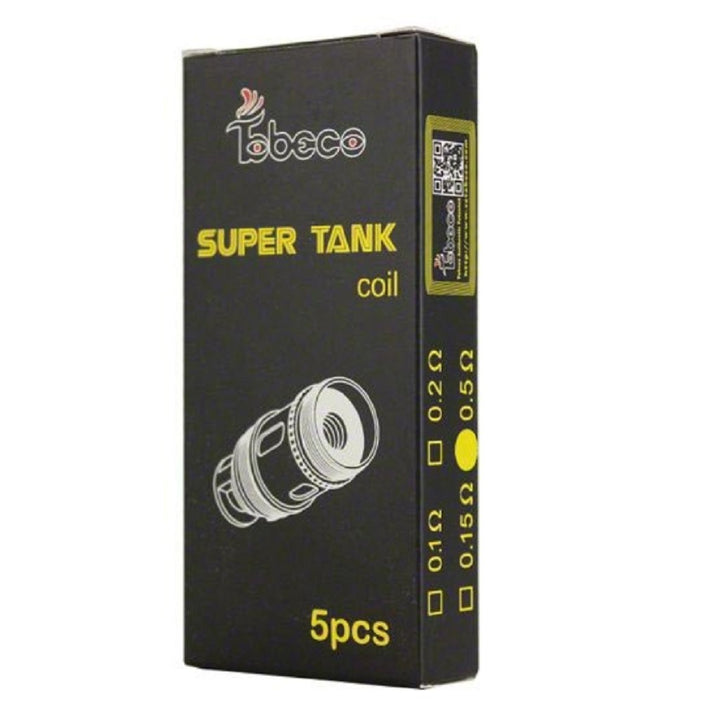 Supertank Replacement Coils 5 Pack by Tobeco