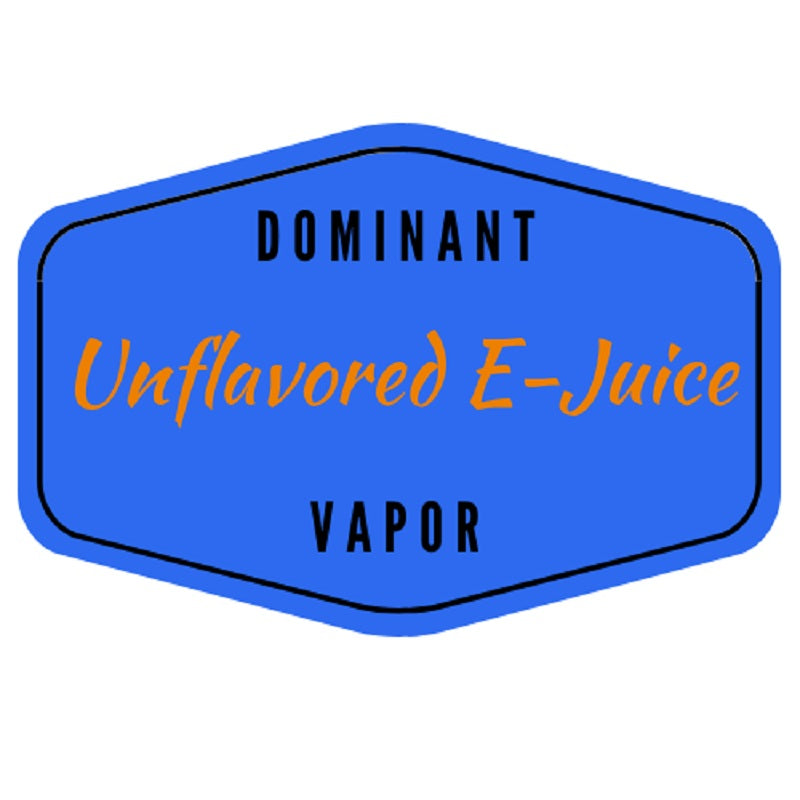 Unflavored E-Juice
