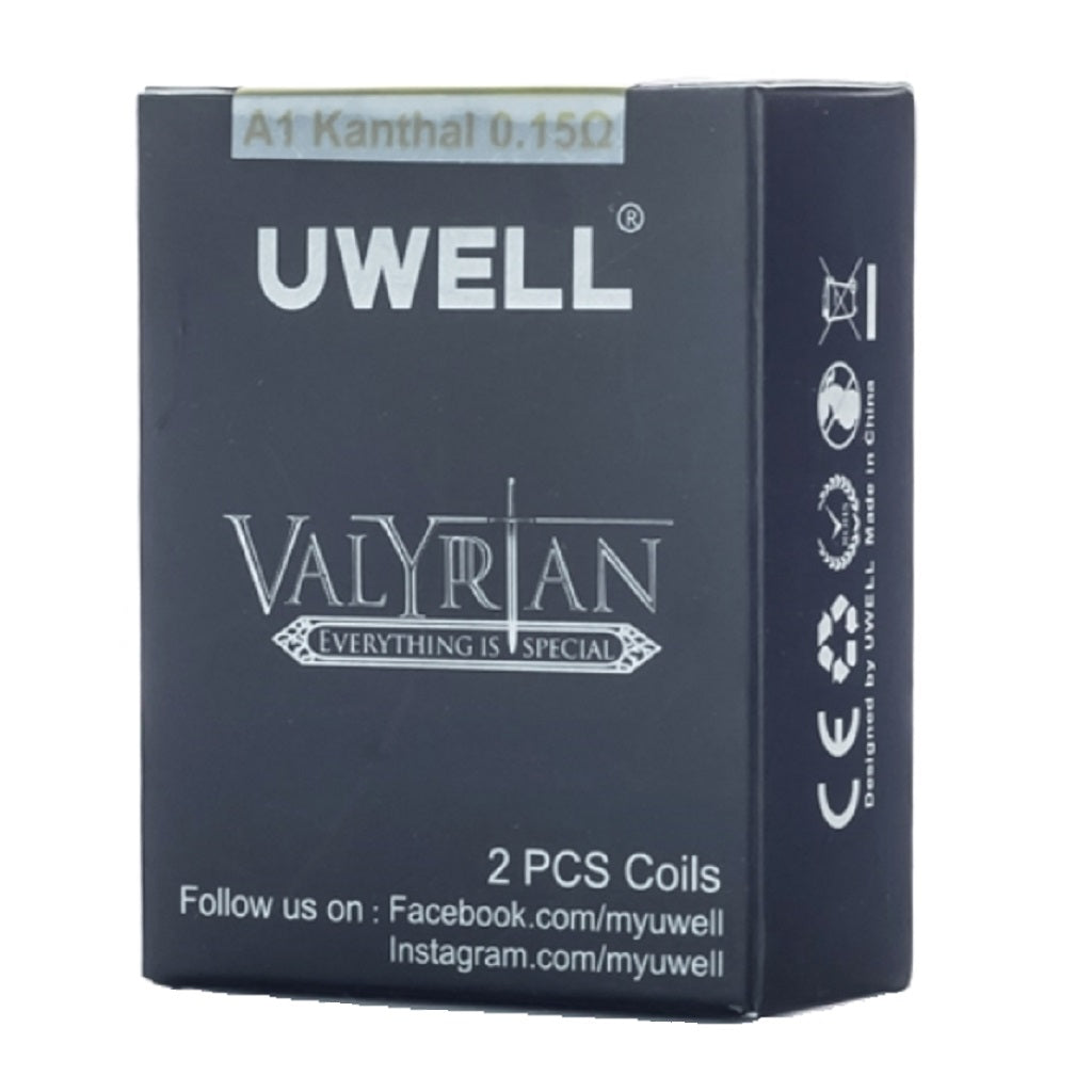 Valyrian Replacement Coils (2 pack) by Uwell New!