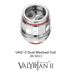 Valyrian II Replacement Coils 2 pack by Uwell New!