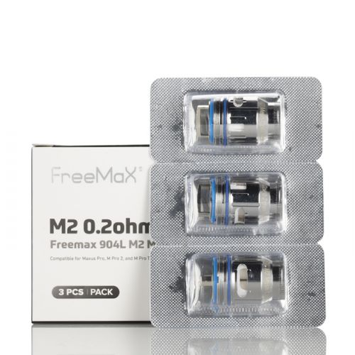 Maxus M Pro 2 904L Replacement Coils (3 Pack) by Freemax New!