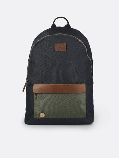 BACKPACK- NAVY/KAKI