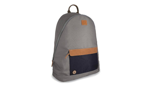 BACKPACK - TAUPE/NAVY