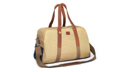BAG48 - BEIGE/NAVY
